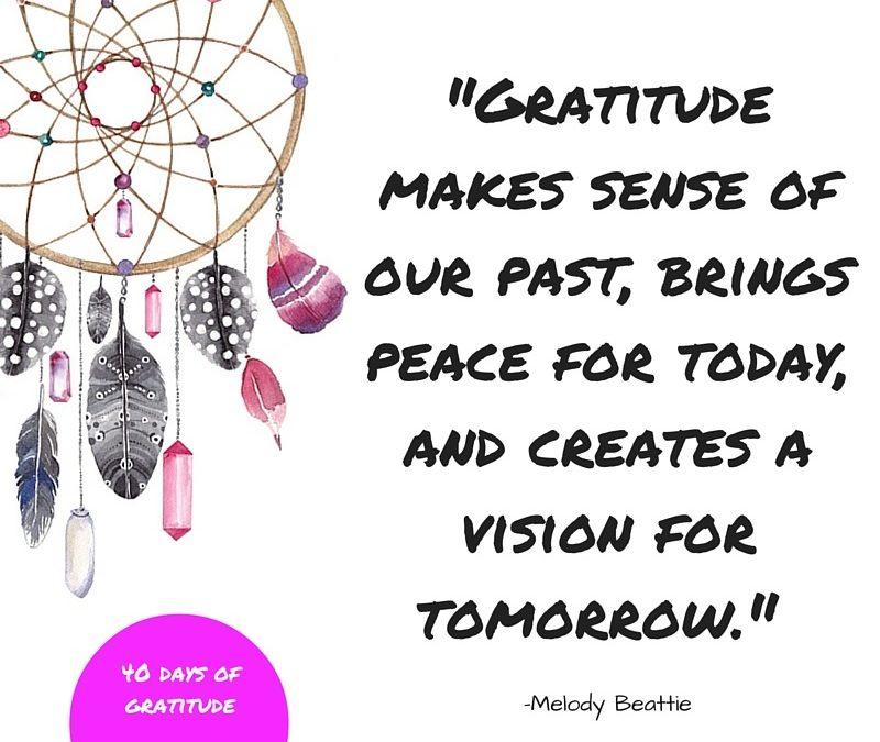 A world of gratitude