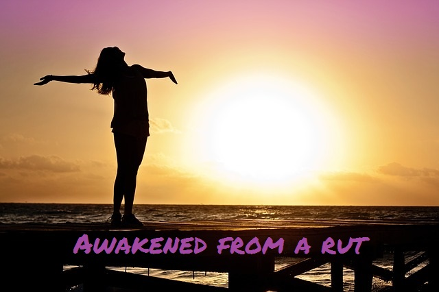 Awakened from a rut